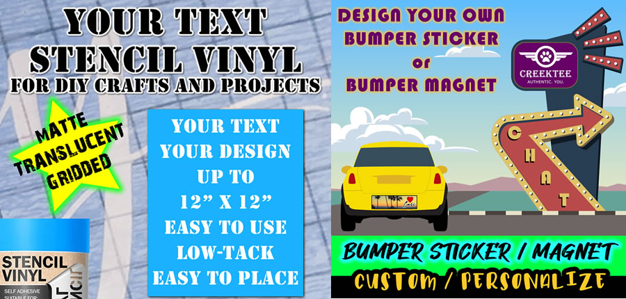 Custom Decals, T-Shirts and Printing